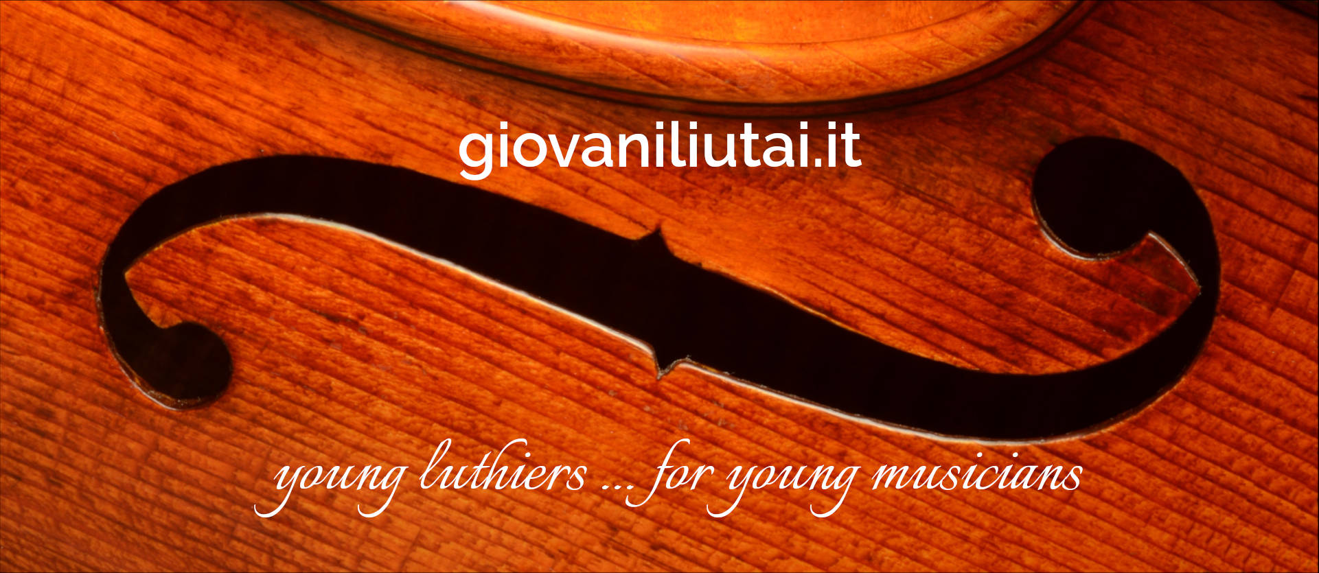 young luthiers ... for young musicians